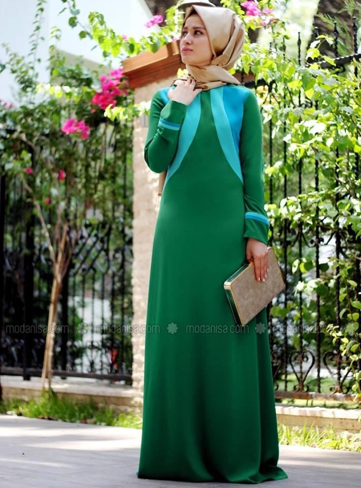 بالصور ملابس محجبات قمة الموضة , 2019 ملابس للمحجبات تجنن 107 3