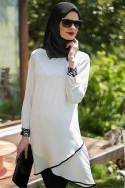 بالصور ملابس محجبات قمة الموضة , 2019 ملابس للمحجبات تجنن 107 7