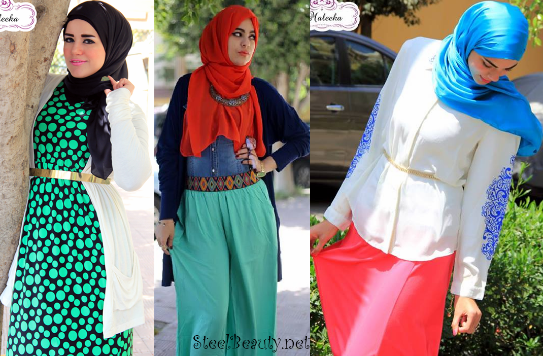 بالصور ملابس محجبات قمة الموضة , 2019 ملابس للمحجبات تجنن 107