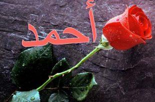 صورة صور اسم احمد مكتوب , جمال الاسم بالصور لاحمد