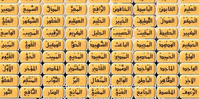 صورة محمد راتب النابلسي يستعرض لنا اسماء الله الحسني بالصور