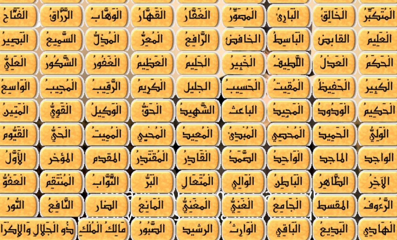 صوره محمد راتب النابلسي يستعرض لنا اسماء الله الحسني بالصور
