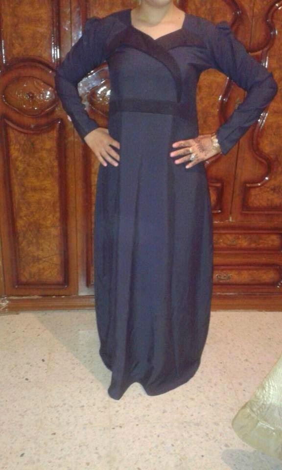 صوره اجمل الحجابات الجزائرية تامل وانت الحكم , صور حجابات مخيطه بانامل جزائرية