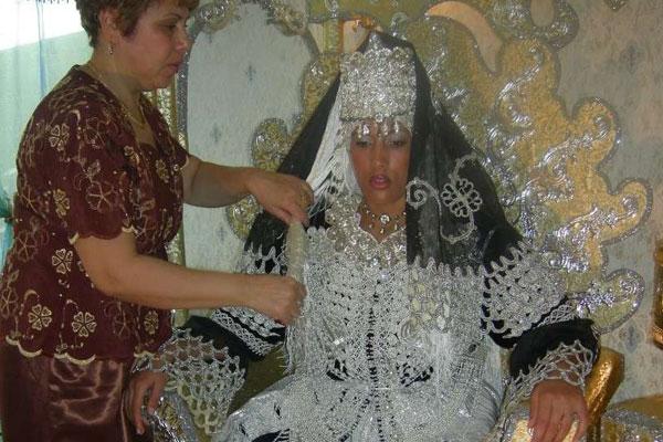 صوره موديلات فساتين بنات للاعراس الجزائرية 2019 , اجمل فساتين العرائس