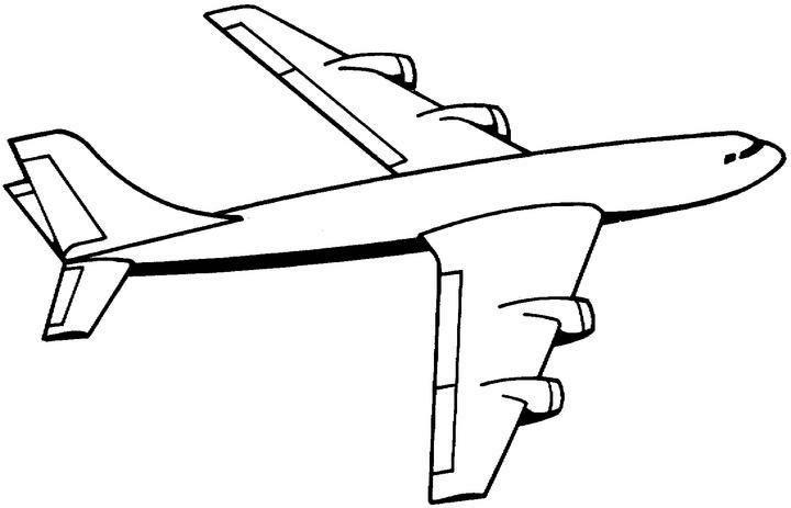 صور رسومات للتلوين الطائرات , رسومات جديدة للطائرات لهواه التلوين