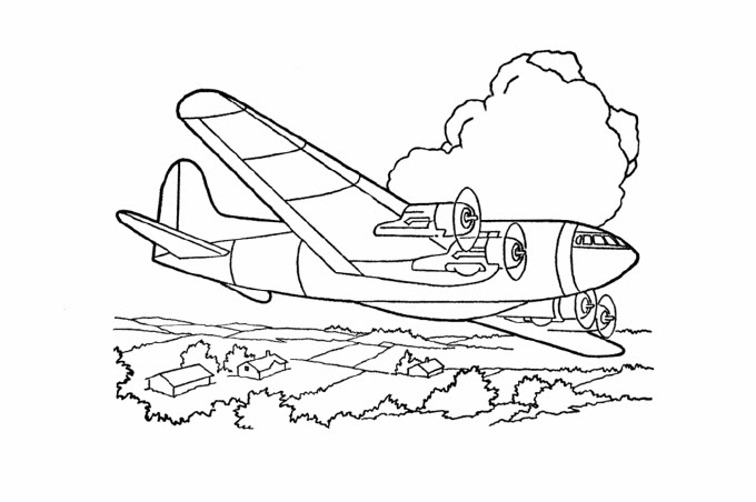 بالصور رسومات للتلوين الطائرات , رسومات جديدة للطائرات لهواه التلوين 244 4