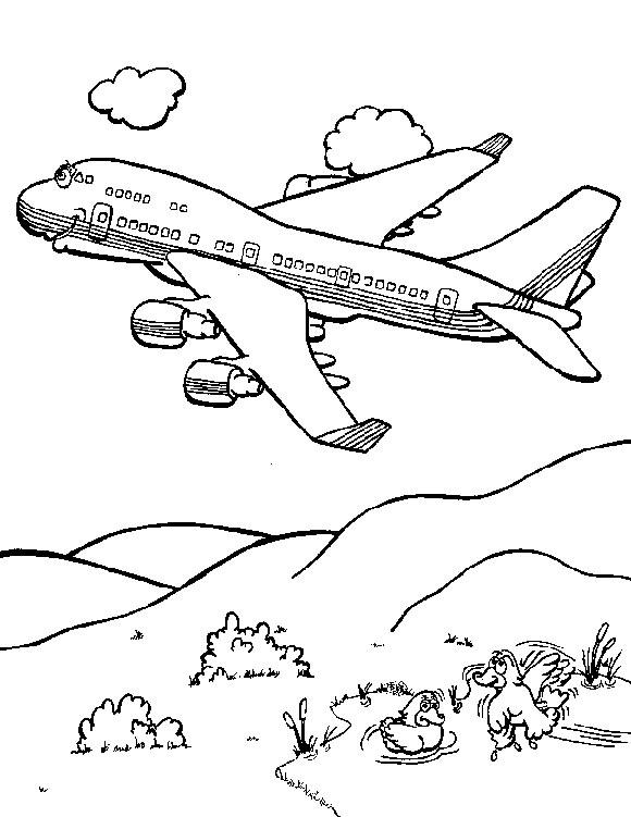 بالصور رسومات للتلوين الطائرات , رسومات جديدة للطائرات لهواه التلوين 244 5