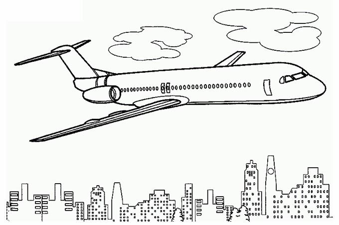 بالصور رسومات للتلوين الطائرات , رسومات جديدة للطائرات لهواه التلوين 244 6