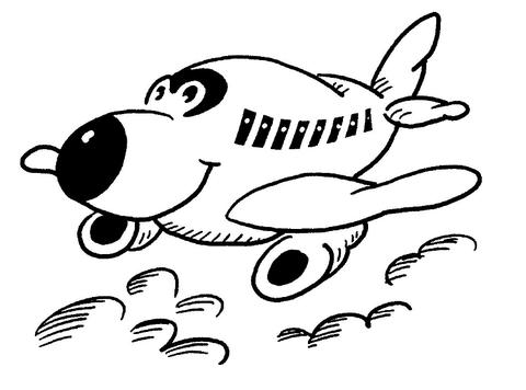 بالصور رسومات للتلوين الطائرات , رسومات جديدة للطائرات لهواه التلوين 244