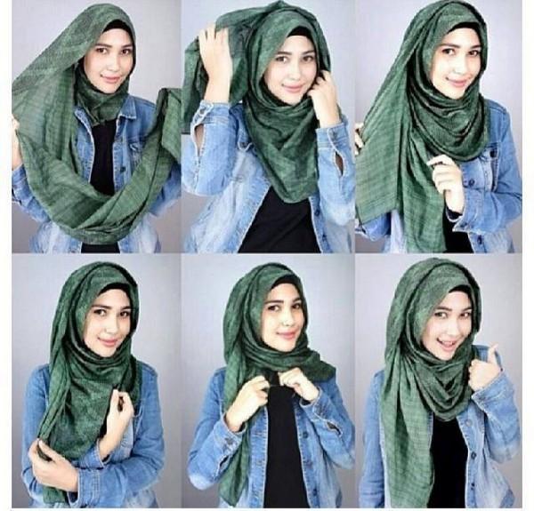 صور طرق وضع الحجاب التركي , اجمل لفات الحجاب بالصور