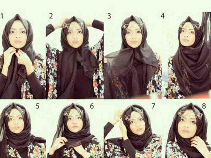 بالصور طرق وضع الحجاب التركي , اجمل لفات الحجاب بالصور 249 3