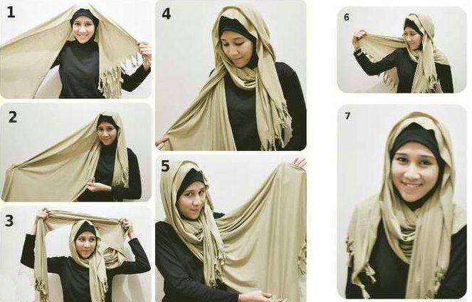 بالصور طرق وضع الحجاب التركي , اجمل لفات الحجاب بالصور 249 4