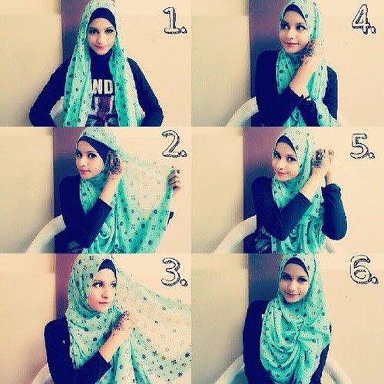 بالصور طرق وضع الحجاب التركي , اجمل لفات الحجاب بالصور 249 6