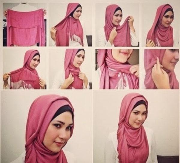 بالصور طرق وضع الحجاب التركي , اجمل لفات الحجاب بالصور 249 7