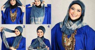 طرق وضع الحجاب التركي , اجمل لفات الحجاب بالصور