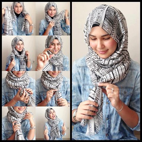 بالصور طرق وضع الحجاب التركي , اجمل لفات الحجاب بالصور 249