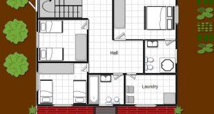 تصميم منزل 100 متر , اجدد تصميمات المنازل الرائعة