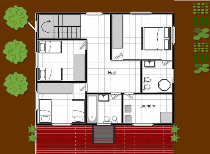 صوره تصميم منزل 100 متر , اجدد تصميمات المنازل الرائعة
