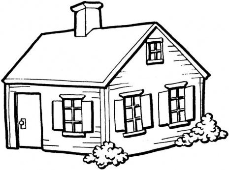 بالصور تلوين منزل للاطفال , اجمل صور تلوين منازل الاطفال 278 1