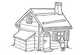 بالصور تلوين منزل للاطفال , اجمل صور تلوين منازل الاطفال 278 8