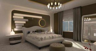 صور ديكورات غرف نوم مودرن 2019 , اجمل ديكور غرفة نوم حديثة