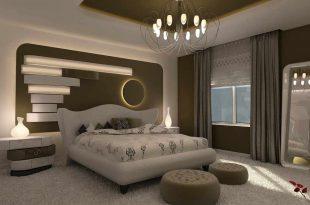صوره ديكورات غرف نوم مودرن 2019 , اجمل ديكور غرفة نوم حديثة