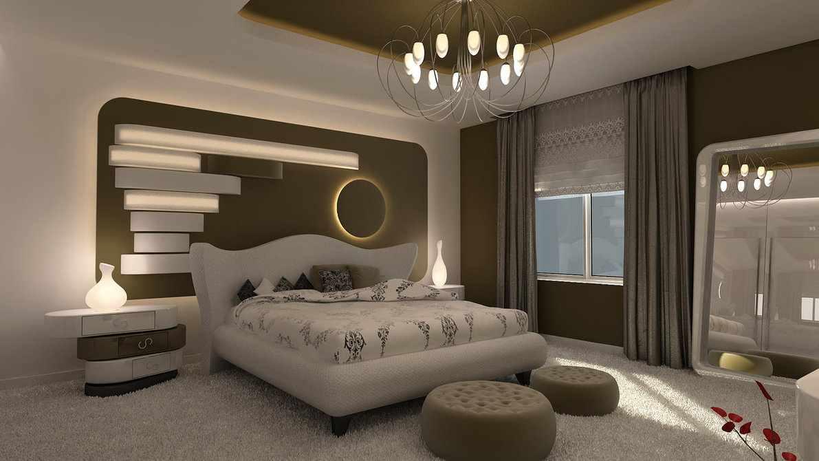 صورة ديكورات غرف نوم مودرن 2019 , اجمل ديكور غرفة نوم حديثة