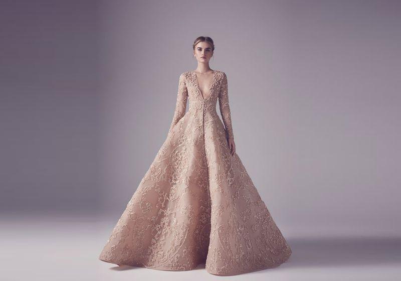 بالصور اروع بل افضل فستان نسائي لهذا العام , اجمل فستان فى موضة 2019 312 6