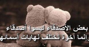 كلام جميل لصديق عزيز , اجمل كلمات قيلت لصديق