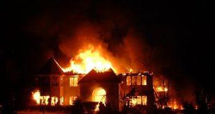 تفسير حلم بيت يحترق , تعبير رؤية حريق المنزل