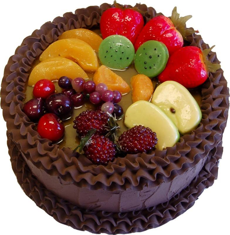 Fruit Topping For Chocolate Cake
