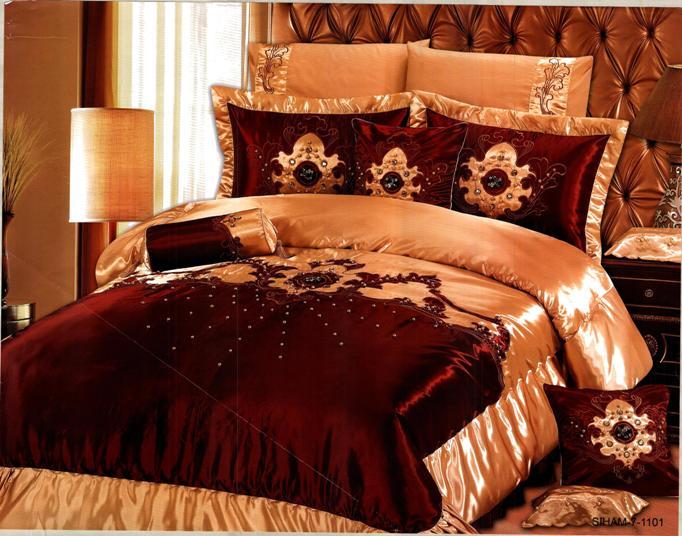بالصور صور افخم اغطية سرير للعروسة , احدث الاغطية للزواج 2019 689 11