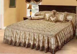 بالصور صور افخم اغطية سرير للعروسة , احدث الاغطية للزواج 2019 689 12