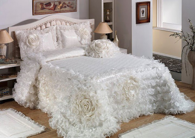 بالصور صور افخم اغطية سرير للعروسة , احدث الاغطية للزواج 2019 689