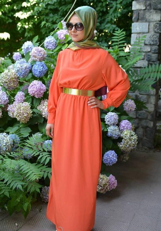 بالصور ازياء للمحجبات جديدة , الحجاب دلوقتي اجمل 712 3