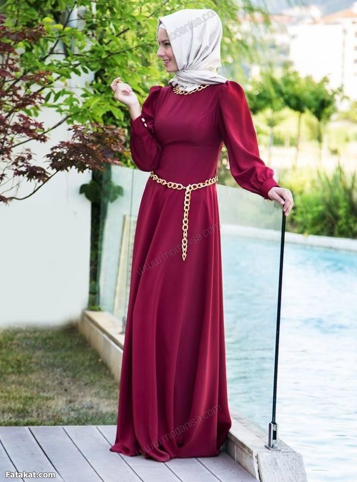 صورة ازياء للمحجبات جديدة , الحجاب دلوقتي اجمل