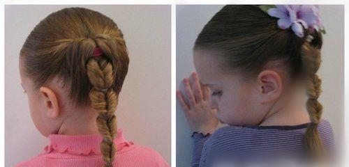 صورة لفات شعر اطفال , اجدد تسريحات شعر للاطفال