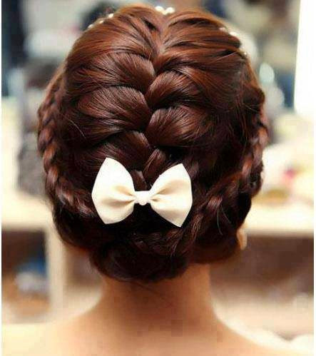 بالصور تسريحات شعر سهلة للاعراس , ابسط التسريحات و اجملها مناسبة للاعراس 779 3