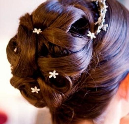 بالصور تسريحات شعر سهلة للاعراس , ابسط التسريحات و اجملها مناسبة للاعراس 779 5