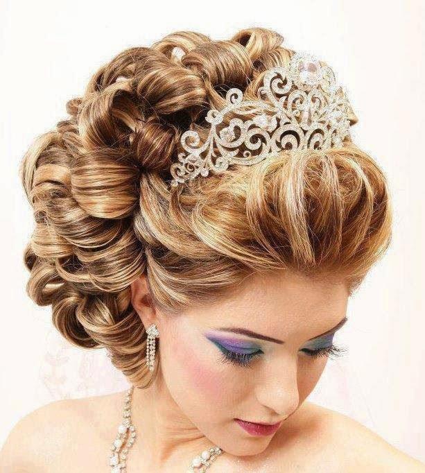 بالصور تسريحات شعر سهلة للاعراس , ابسط التسريحات و اجملها مناسبة للاعراس 779 9