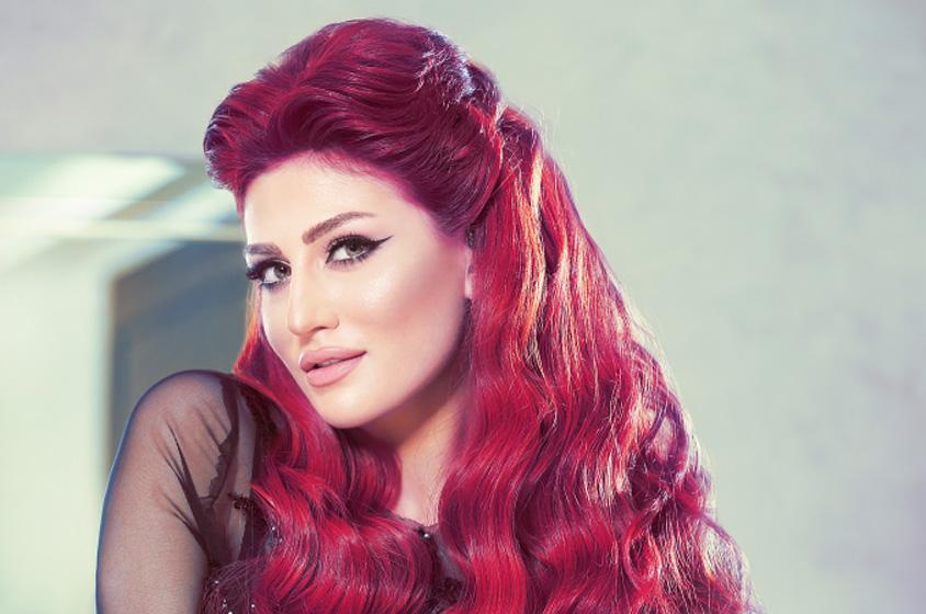 صوره تسريحات شعر هبة نور , اجمل اطلالة جذابة للنجمة السورية