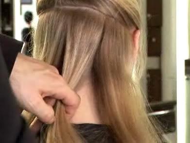 بالصور طريقة عمل لف الشعر , خطوات بسيطة لعمل تسريحات مختلفة 793 1