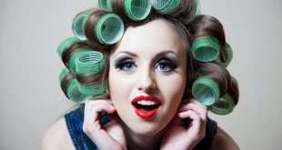 طريقة عمل لف الشعر , خطوات بسيطة لعمل تسريحات مختلفة