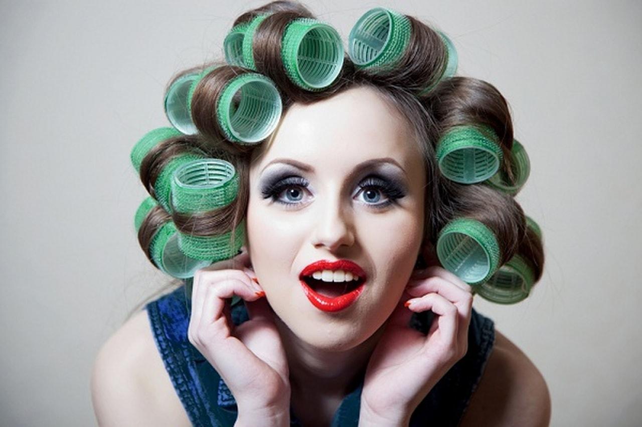 صوره طريقة عمل لف الشعر , خطوات بسيطة لعمل تسريحات مختلفة