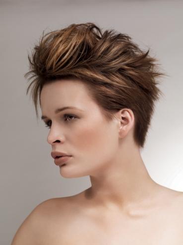 بالصور تسريحات للشعر القصير للمناسبات , احلي موديلات تناسب الشعر القصير 795 7