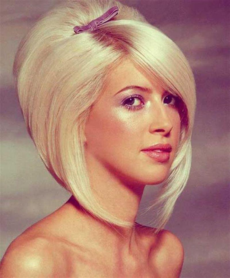 بالصور تسريحات للشعر القصير للمناسبات , احلي موديلات تناسب الشعر القصير 795 8