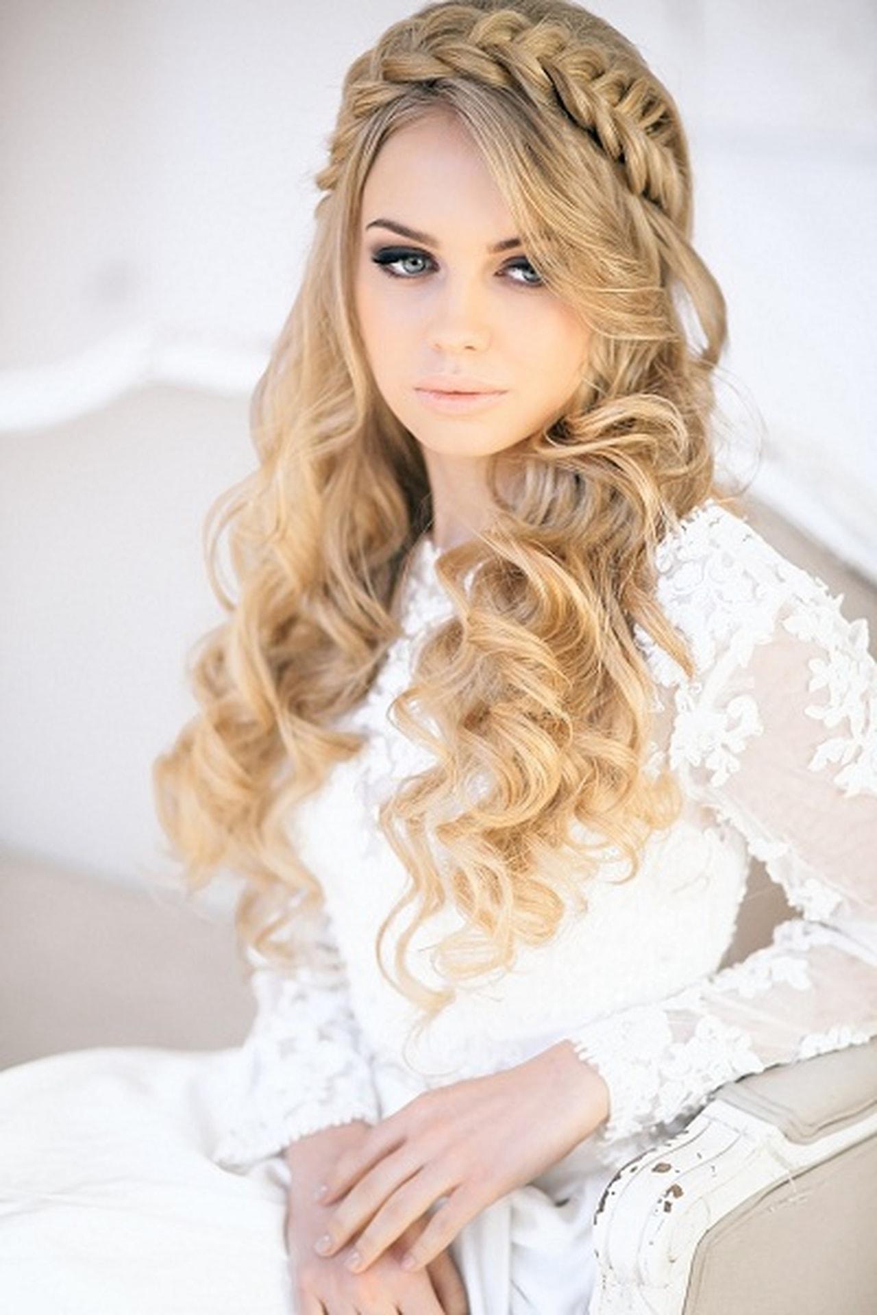 صورة صور تسريحات شعر عرايس , تسريحات متنوعة ليوم زفافك