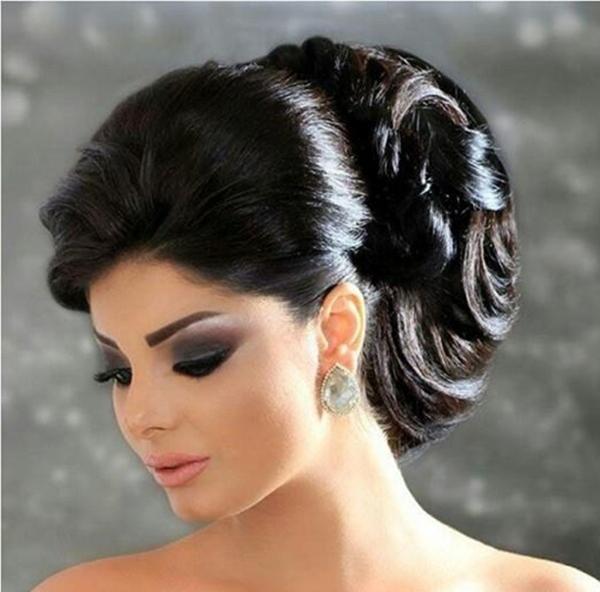 بالصور صور تسريحات شعر عرايس , تسريحات متنوعة ليوم زفافك 799 4