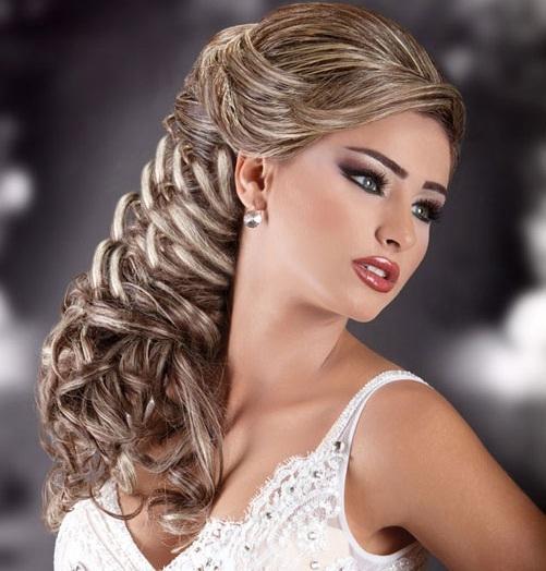 بالصور صور تسريحات شعر عرايس , تسريحات متنوعة ليوم زفافك 799 7