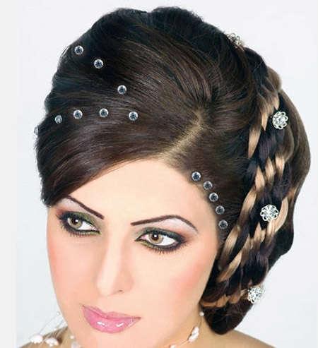 بالصور صور تسريحات شعر عرايس , تسريحات متنوعة ليوم زفافك 799 8